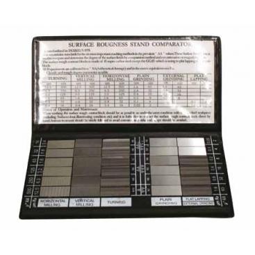 Échantillon de surface RUGOTEST individuel livré par Métrologie Conseil Sourcing